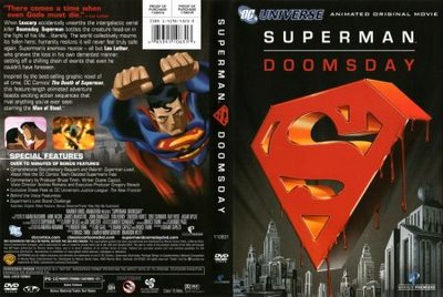 Superman: Doomsday CD Cover