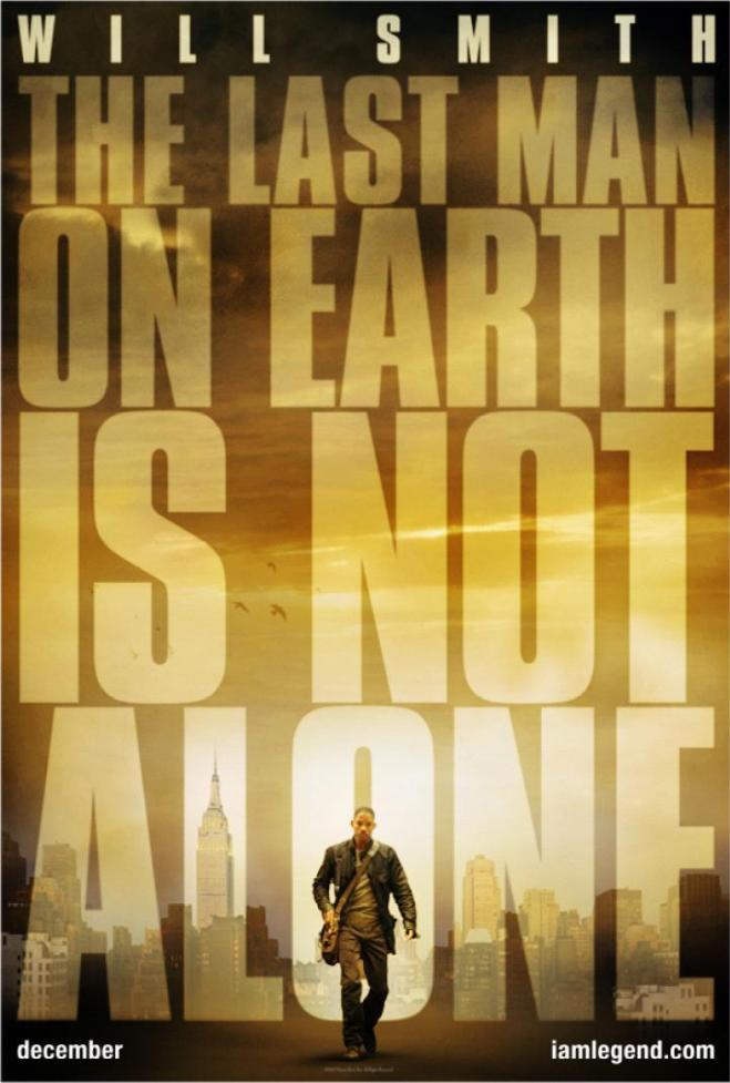 I Am Legend Theatrical Poster