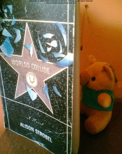 My petite stuffed teddy loves a good romantic novel.
