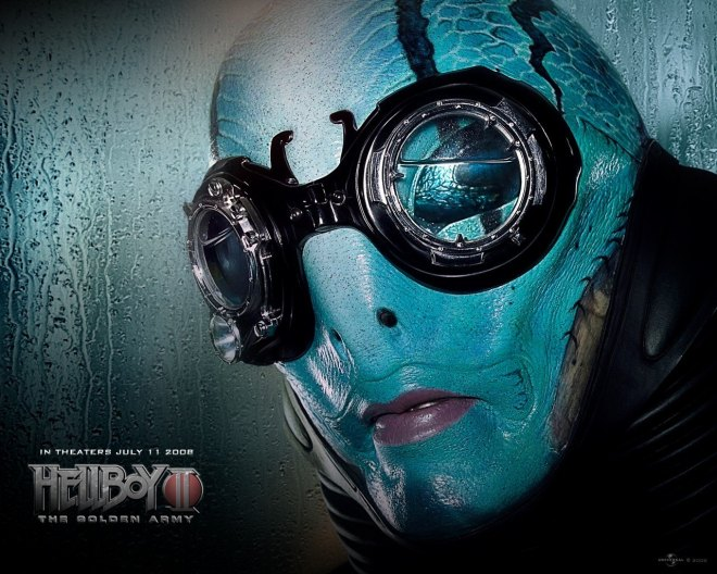 Abe Sapien: My favorite Hellboy character.