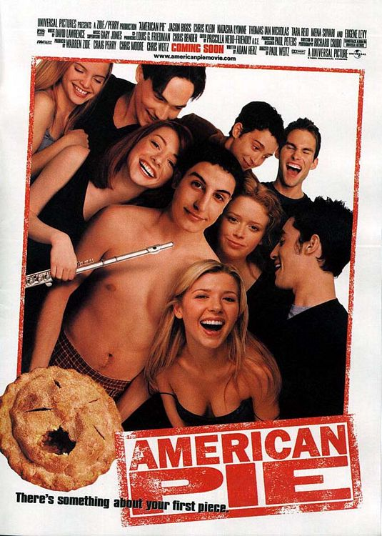 American Pie theatrical poster.