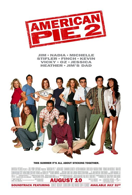 American Pie 2 theatrical poster.