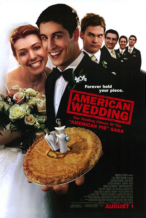 American Pie: The Wedding theatrical poster.