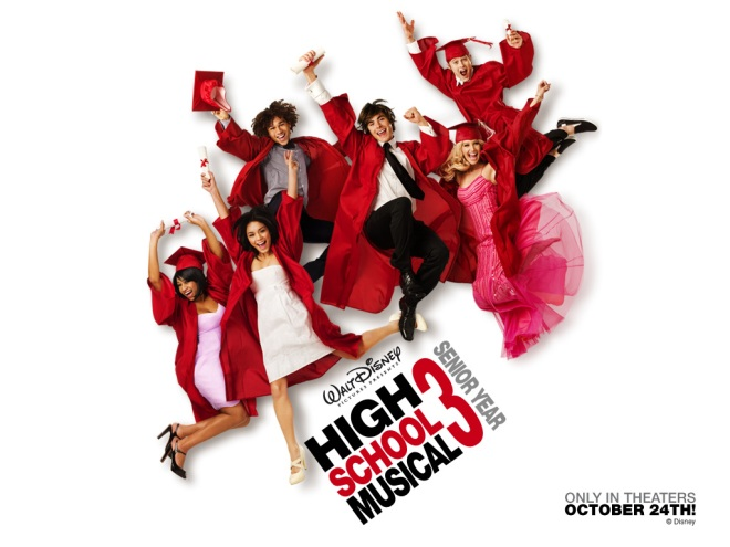 The graduating cast of High School Musical.