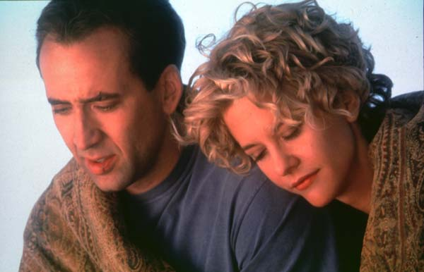 Nicholas Cage and the beautiful Meg Ryan.