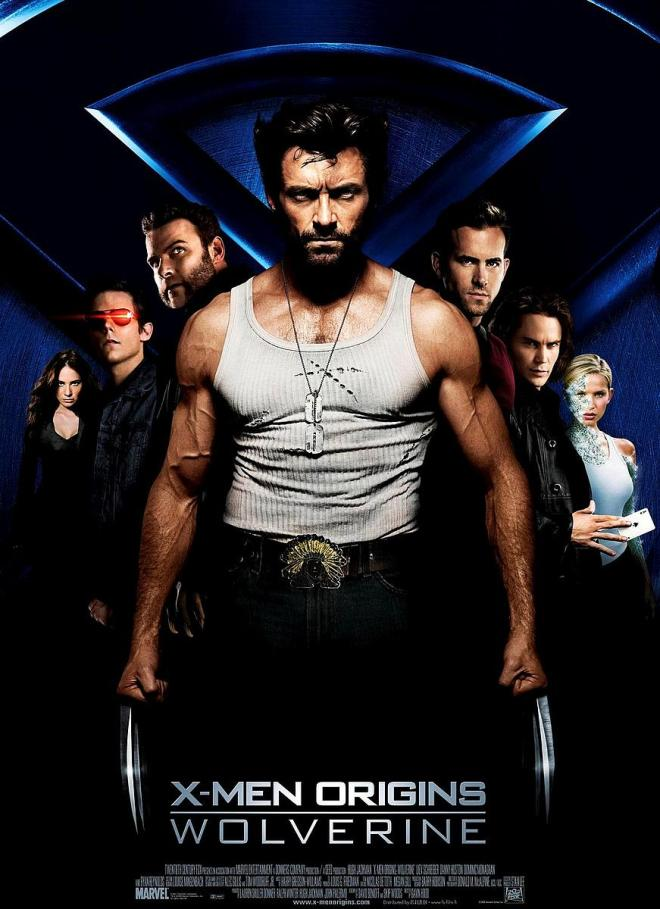 X-Men Origins: Wolverine Theatrical Poster. Don't watch the leaked version. It's so much better on the big screen.