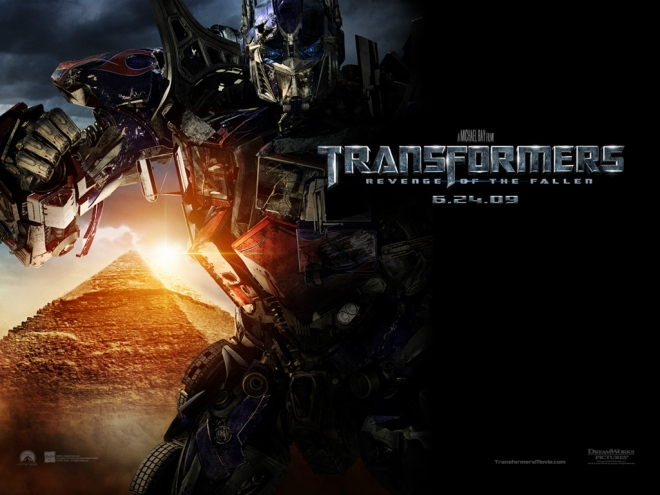 Optimus is more fierce in the sequel!