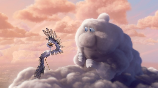 Partly Cloudy is one of me favorite animated short films!