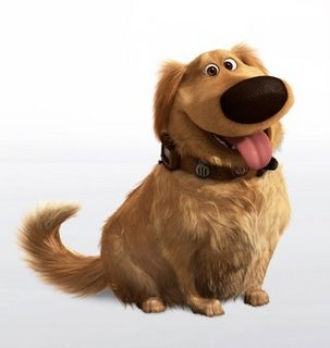 Dug, my favorite character from the animated movie.