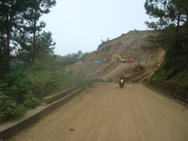 Road Going to Tublay