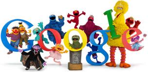 Sesame Street 40th Anniversary by Google