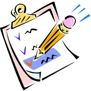 checklist-clipart