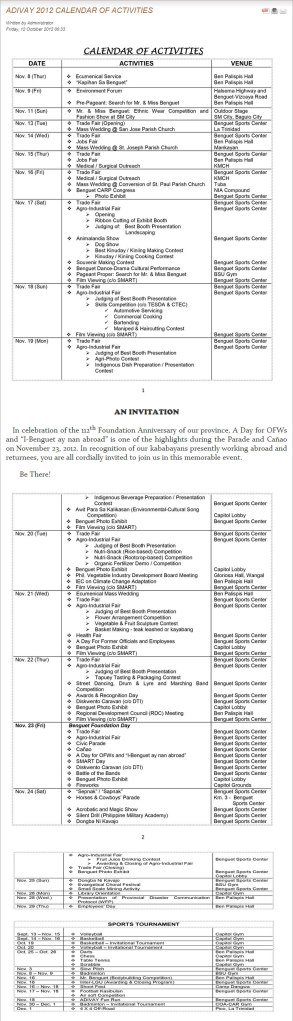 adivay-2012-calendar-of-activities-screenshot