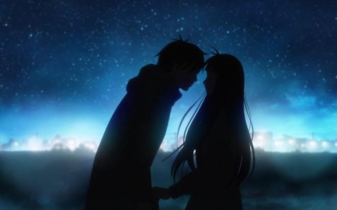Kimi-ni-Todoke-silhouette-kiss