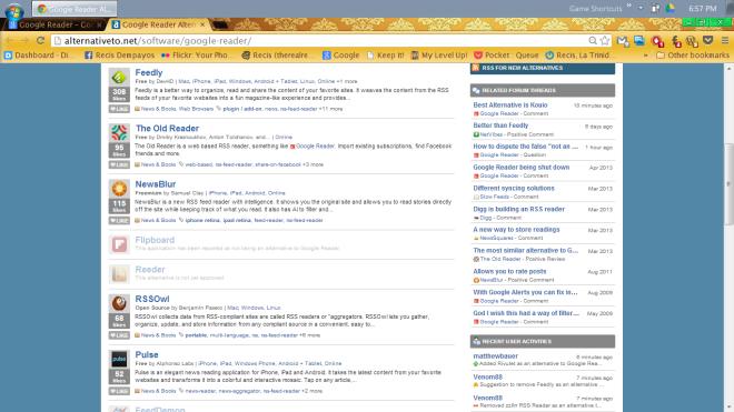 Google-Reader-suggests-alternatives